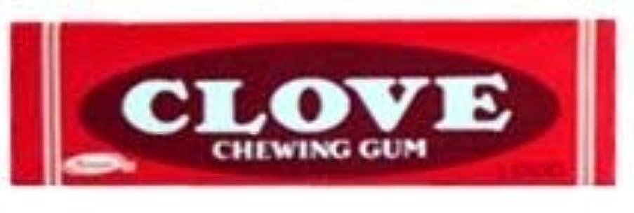 エンドウ地図寝具Clove Gum 20 packs of 5 sticks [並行輸入品]