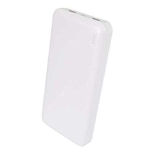 オウルテック モバイルバッテリー 20000mAh 大容量 充電器 2.4A 高出力 急速充電 iPhone スマートフォン iPad タブレット Wi-Fiルーター ホワイト 1年保証 OWL-LPB20001-WH