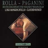 Rolla-Paganini: Duetti Concertanti Per Violino E Violoncello