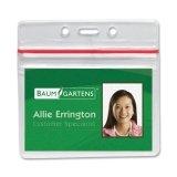 BAU47830 - Baumgartens Sealable ID Badge Holder