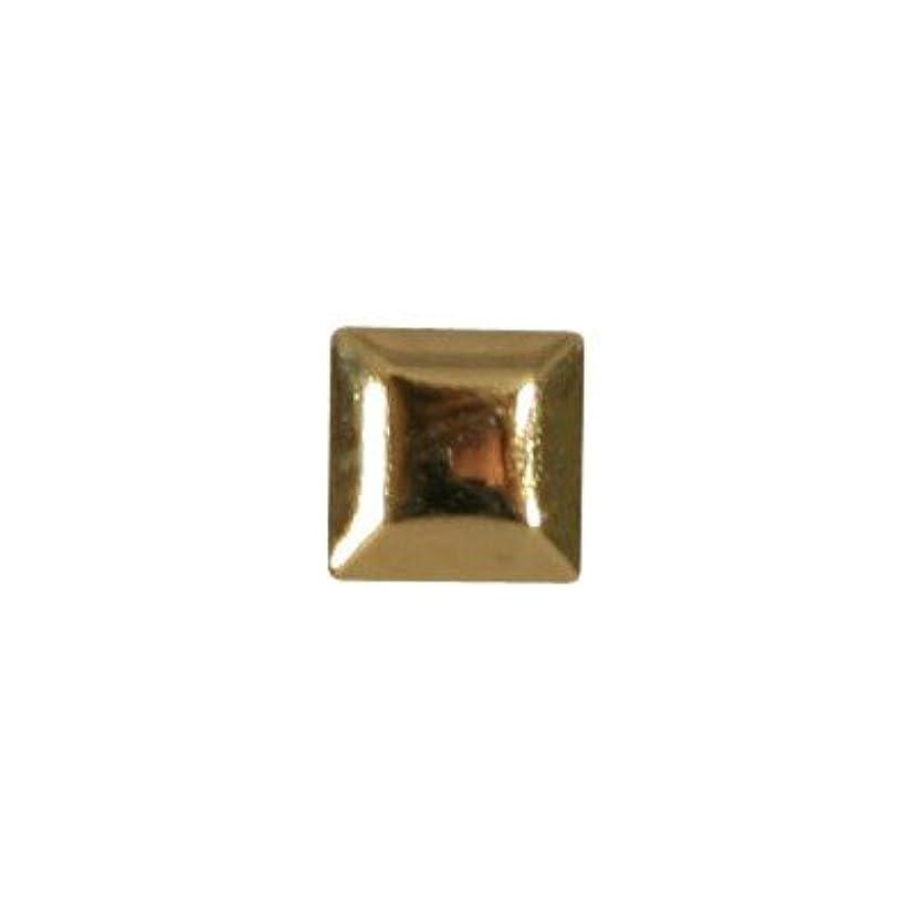 コインワードローブジャングルピアドラ スタッズ メタルスクエア 3mm 50P ゴールド