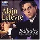 Brahms/Chopin;Ballades