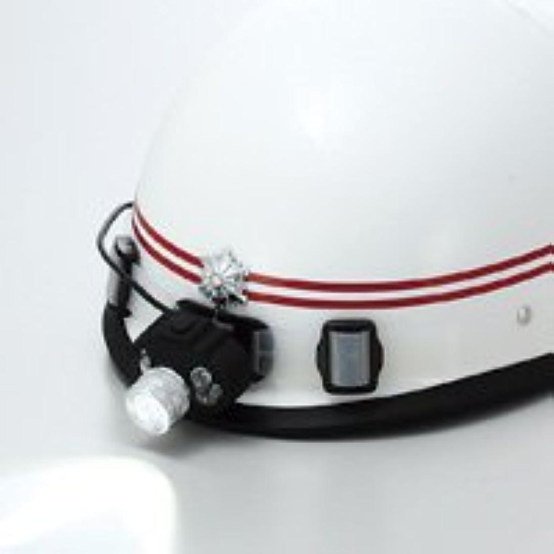 きゅうり敬礼リーズLEDヘッドライトシリコンバンド付 高輝度白?赤?青色LEDライト 5段階点灯タイプ SLE-3