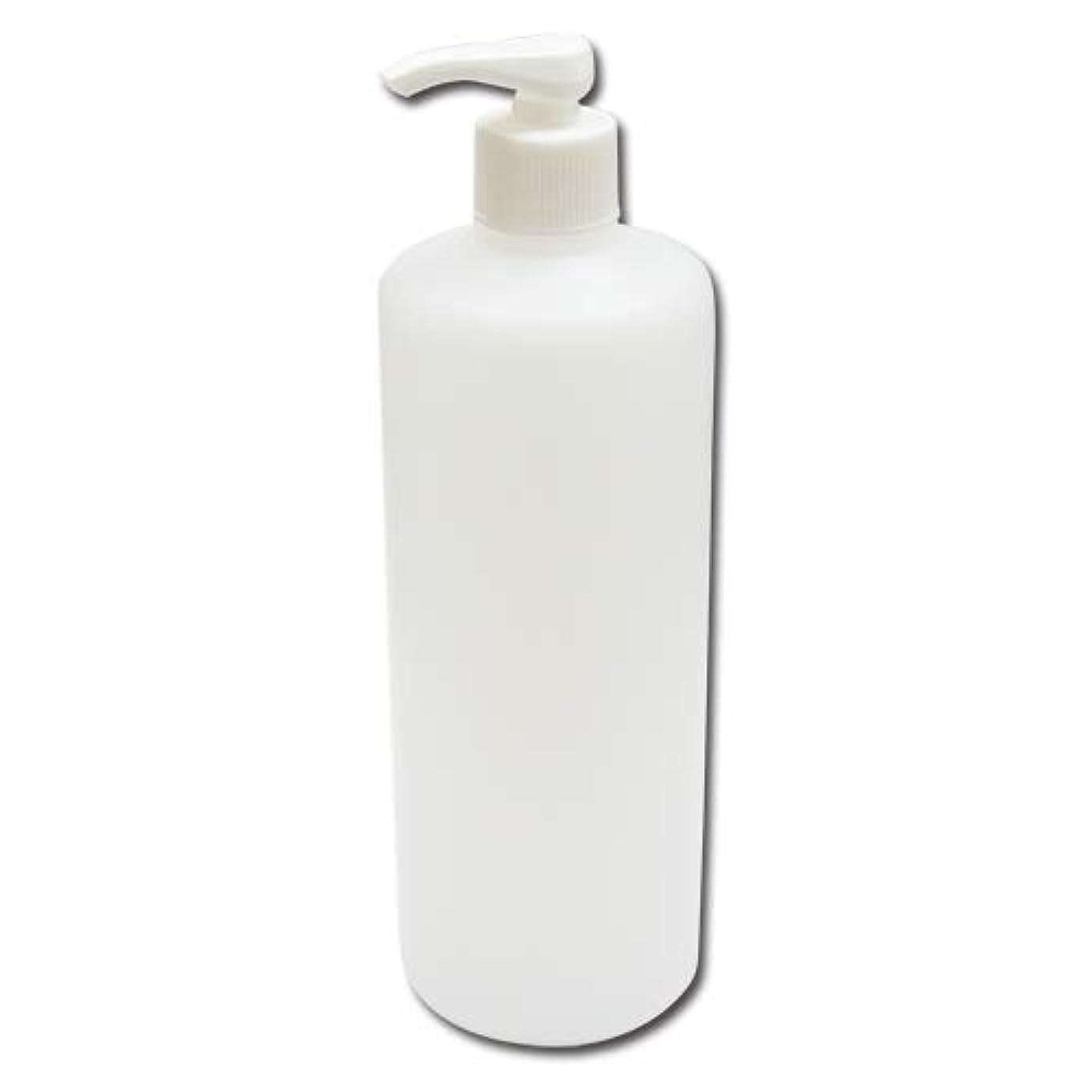 祖先起訴する健全ポンプボトル詰め替え容器500ml│ディスペンサー詰め替え容器/業務用シャンプー?ボディーソープの小分けにポンプ容器 広口タイプ