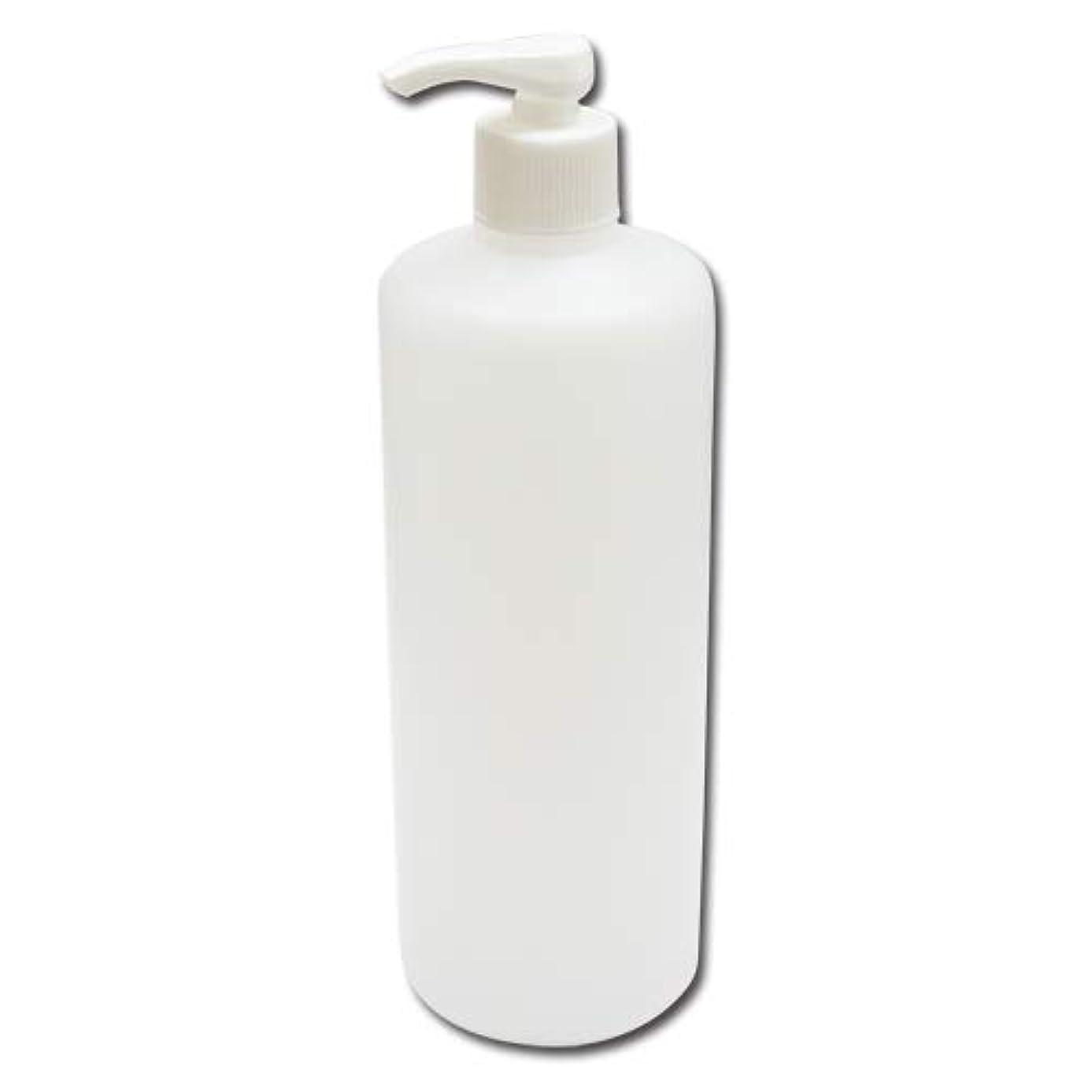 責任岸細菌ポンプボトル詰め替え容器500ml│ディスペンサー詰め替え容器/業務用シャンプー?ボディーソープの小分けにポンプ容器 広口タイプ