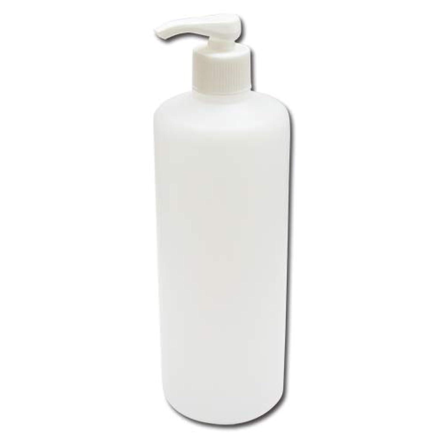 私達踏み台チートポンプボトル詰め替え容器500ml│ディスペンサー詰め替え容器/業務用シャンプー?ボディーソープの小分けにポンプ容器 広口タイプ