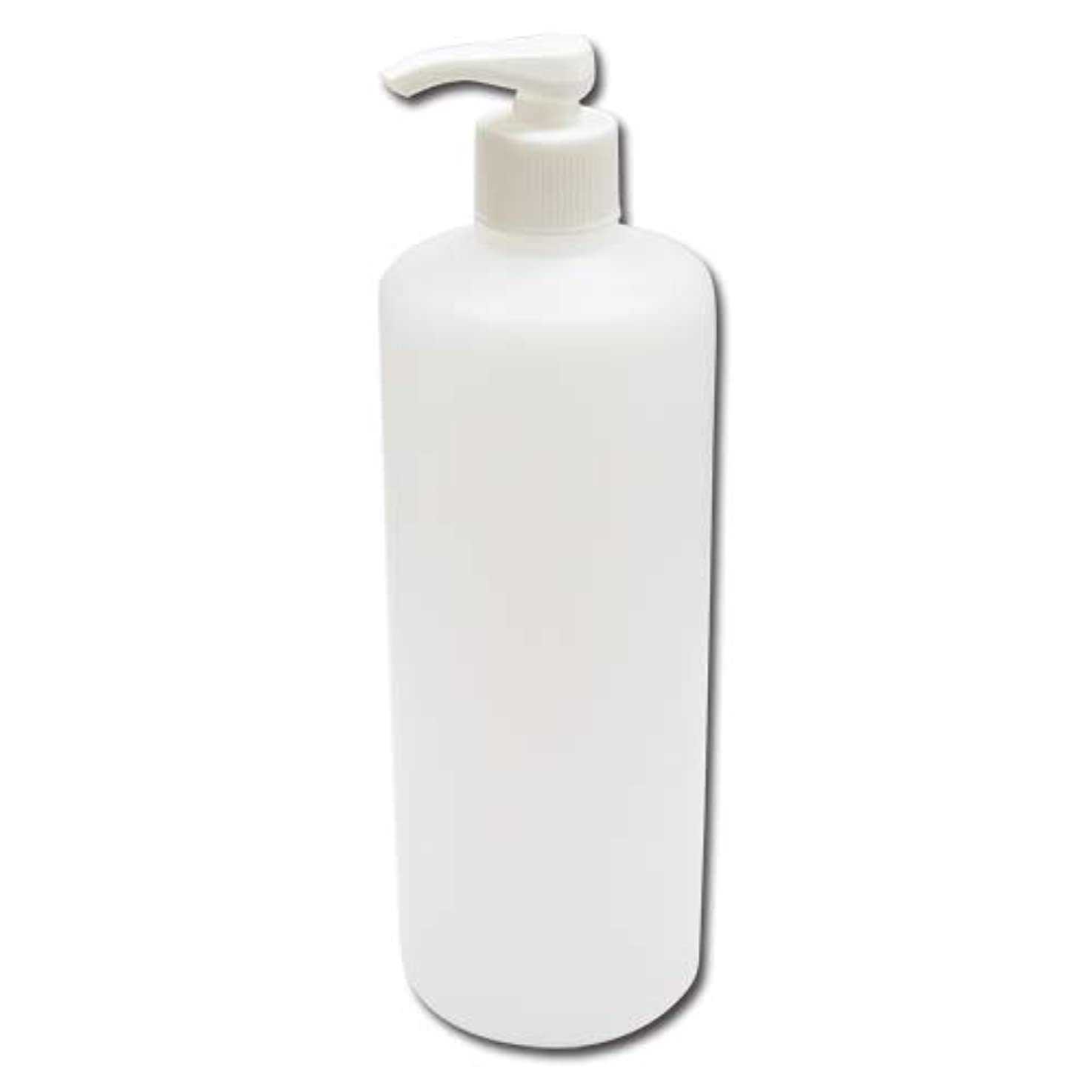 自慢サイドボード貯水池ポンプボトル詰め替え容器500ml│ディスペンサー詰め替え容器/業務用シャンプー?ボディーソープの小分けにポンプ容器 広口タイプ
