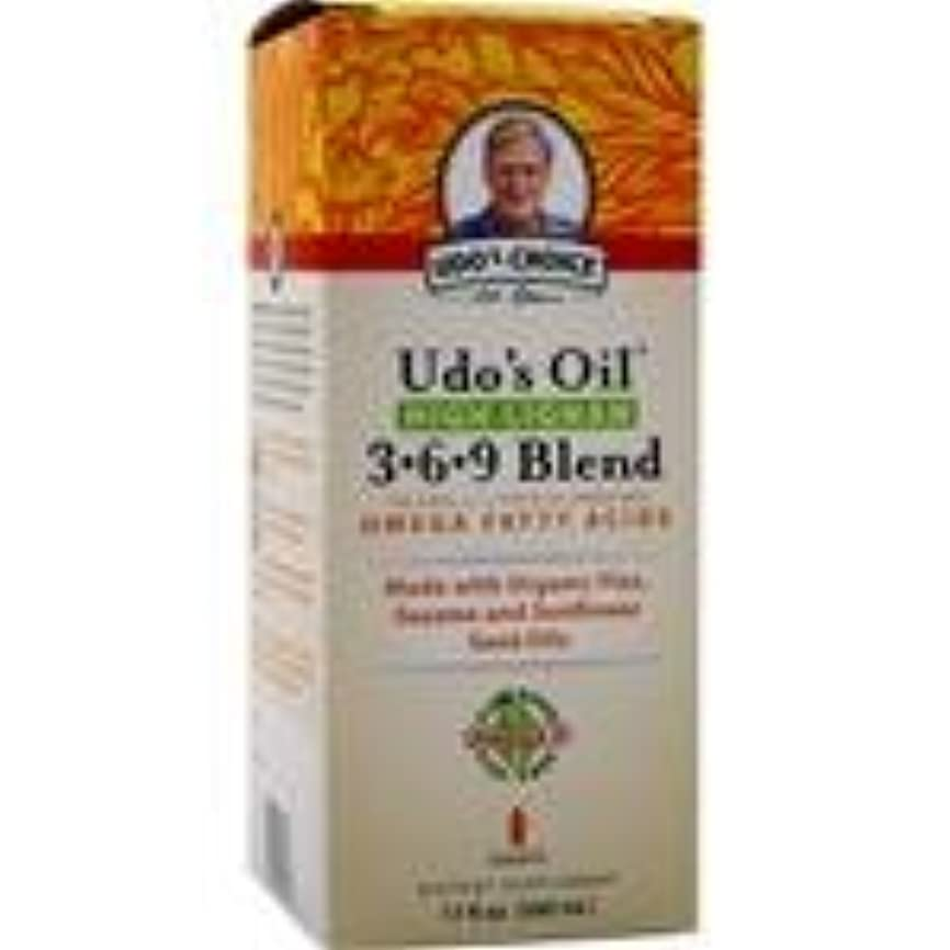バンドルスワップ生むUdo's Oil High Lignan 3-6-9 Blend 17 fl.oz 4個パック