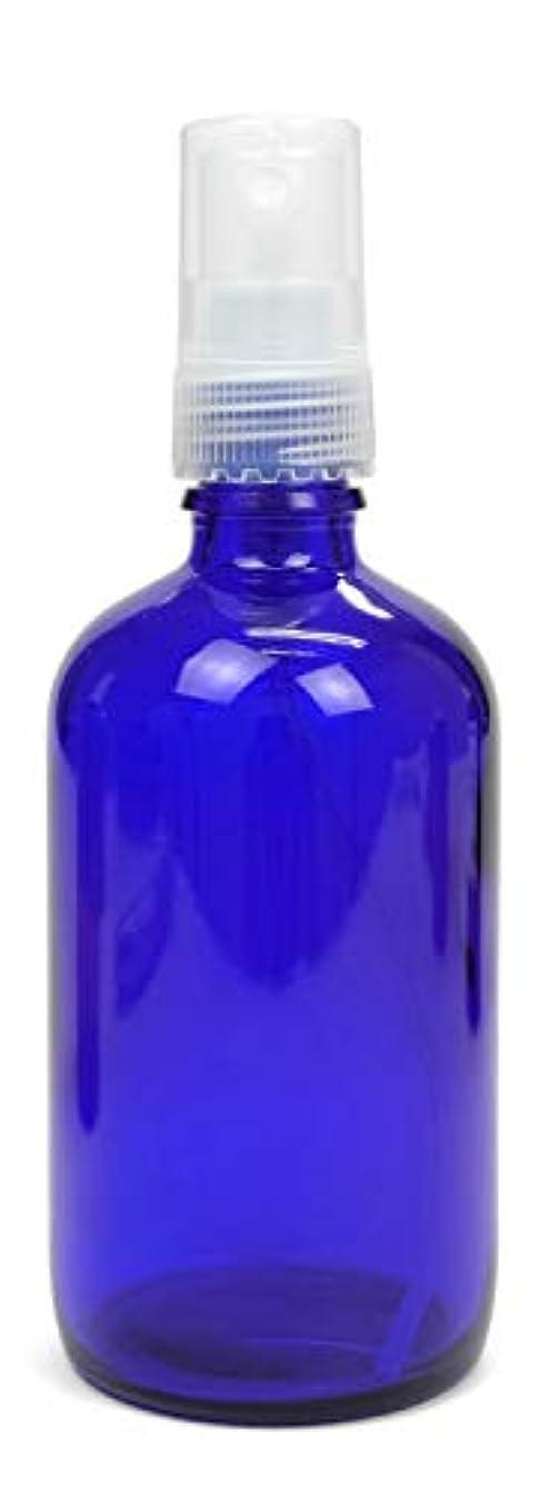 会うポンプ気難しい【NEW】 ease スプレー ガラス 青色 100ml