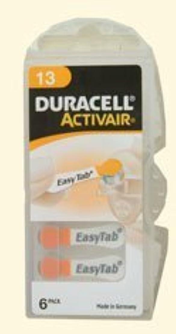 テナント落胆する刃デュラセルActivairサイズ13補聴器用電池(30の電池)