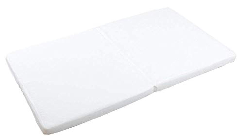 プッパプーポ ベビー敷きふとん 【日本製 固綿】 70×120cm しっかり厚み6cm 2つ折りタイプ