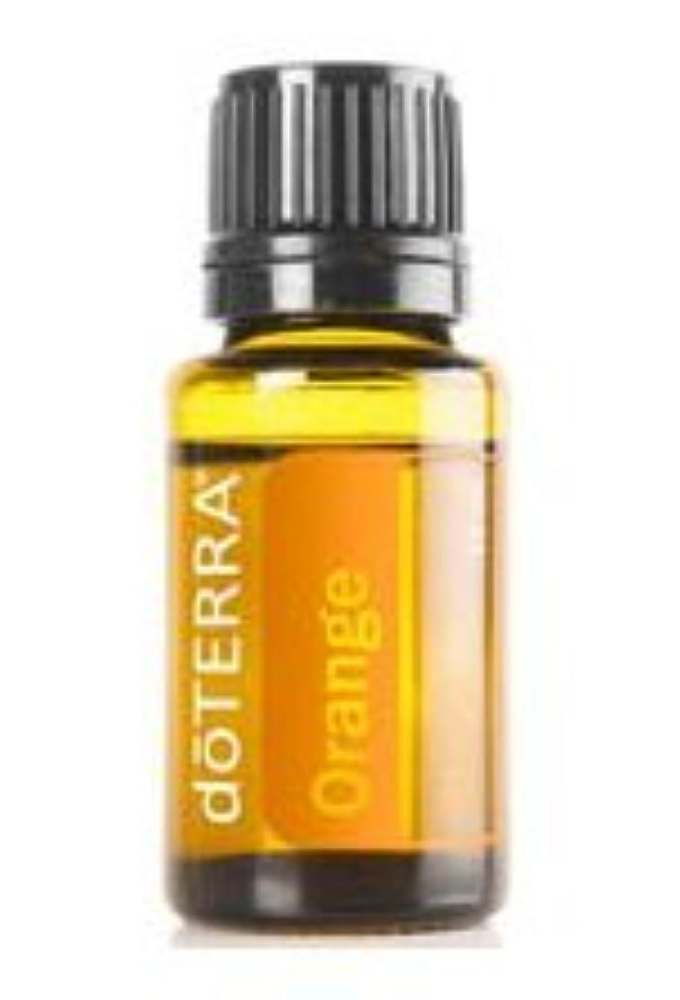 今日偽造置換【doTERRA】 100%天然 エッセンシャルアロマオイル doTERRA オレンジ 15mL アロマオイル メディカルアロマ