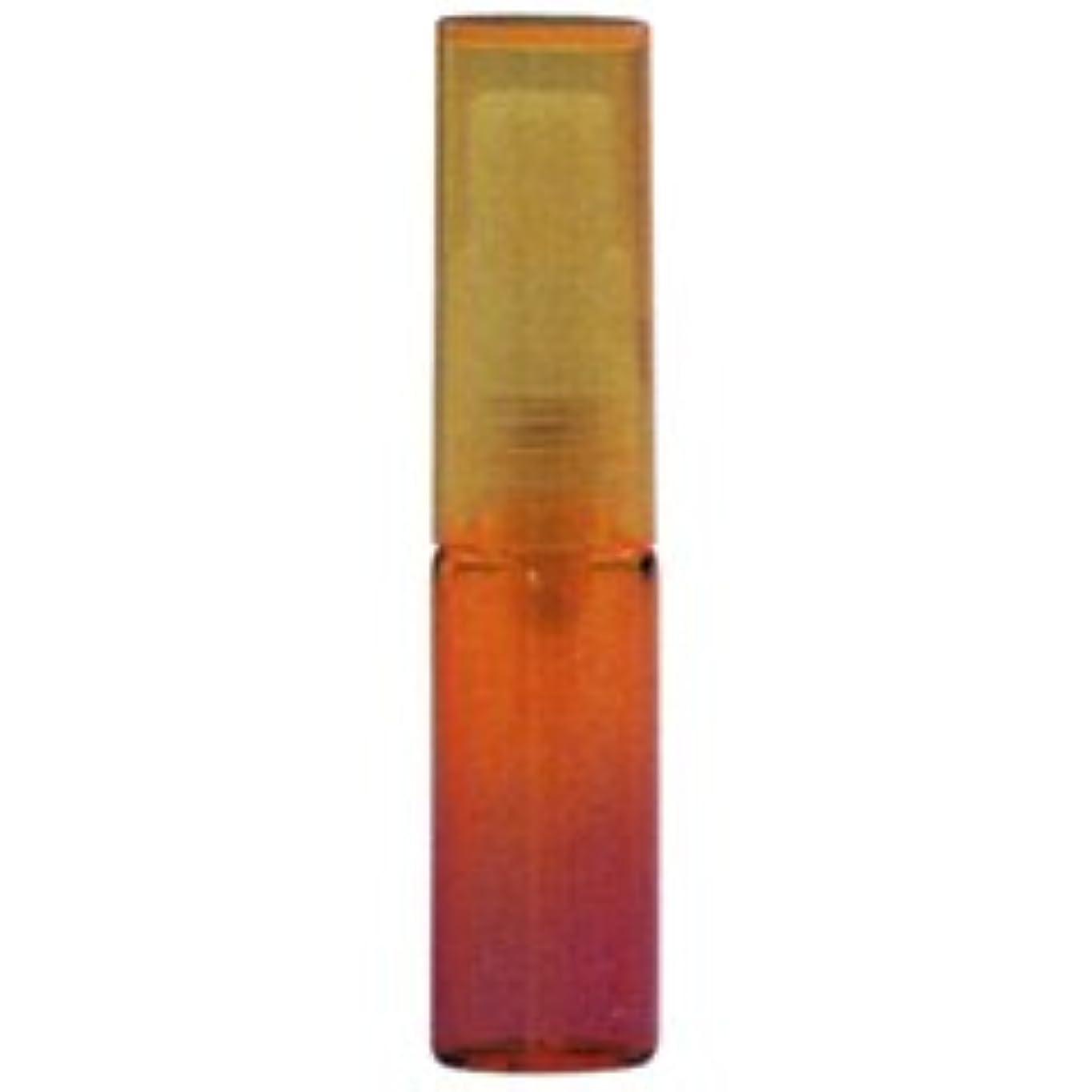 【ヒロセ アトマイザー】グラデーションカラー ガラスアトマイザー 48075 (カラーAT オレンジ/レッド) 4ml