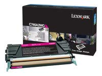 Lexmark lexc746a1mg Lexmark Br c746N–1-sd RTN PROGマゼンタ