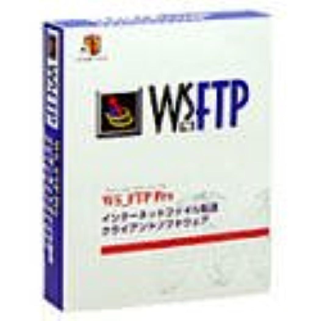 破滅的なグラマー返還WS_FTP Pro V6.0J