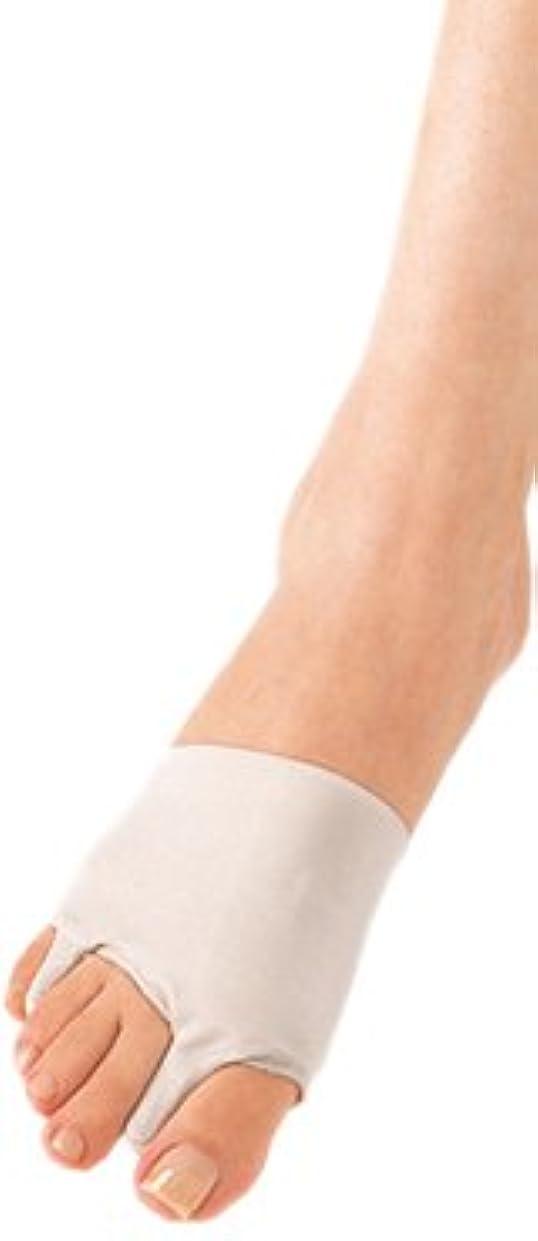 ぐるぐる手錠マージンソルボ外反母趾?内反小趾サポーター(薄型)?Lサイズ(25.5~27.0cm)左足用 ベージュ