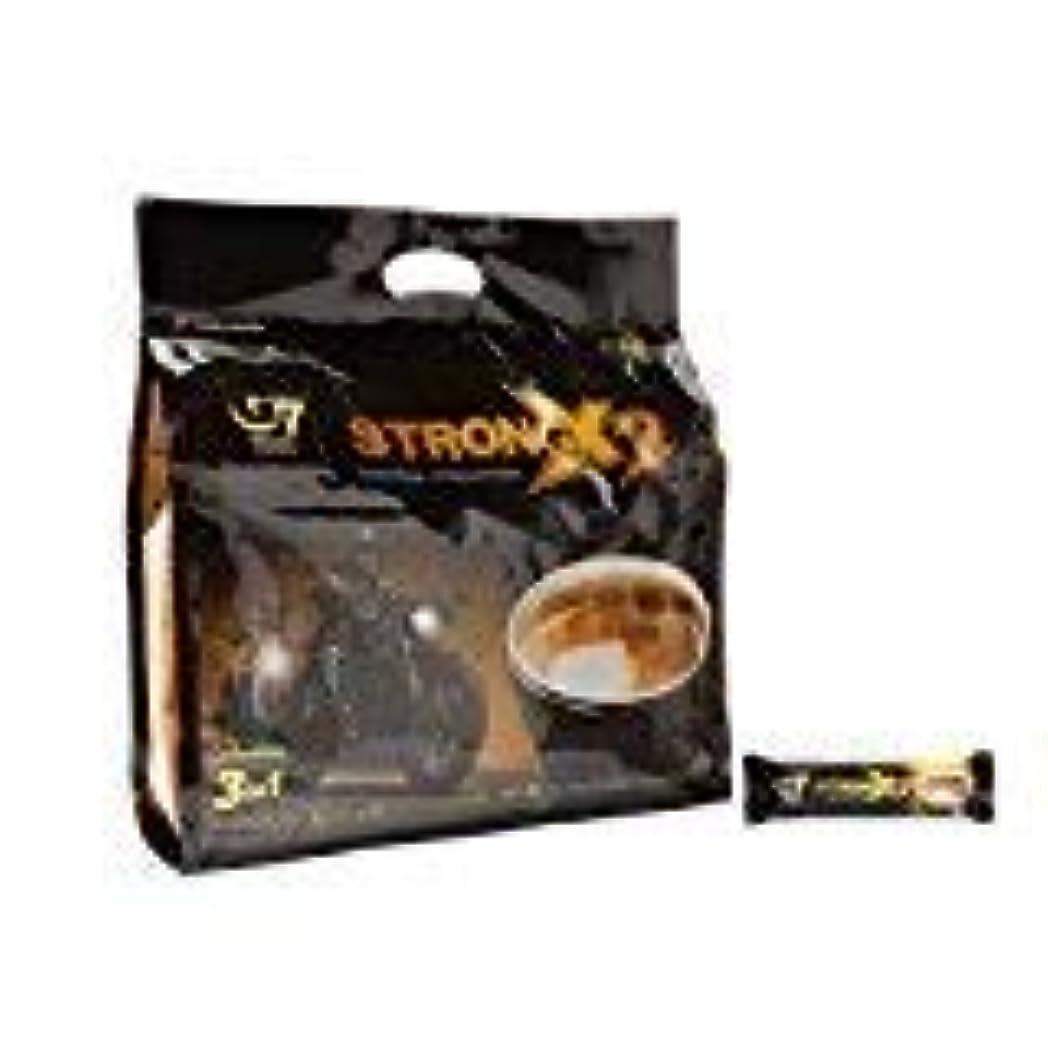 ハリケーン残忍な狂信者Trung Nguyen G7 Coffee Gu Manh X2 Extra Strength 3 in 1 Coffee 36 sticks x 25 grams [並行輸入品]