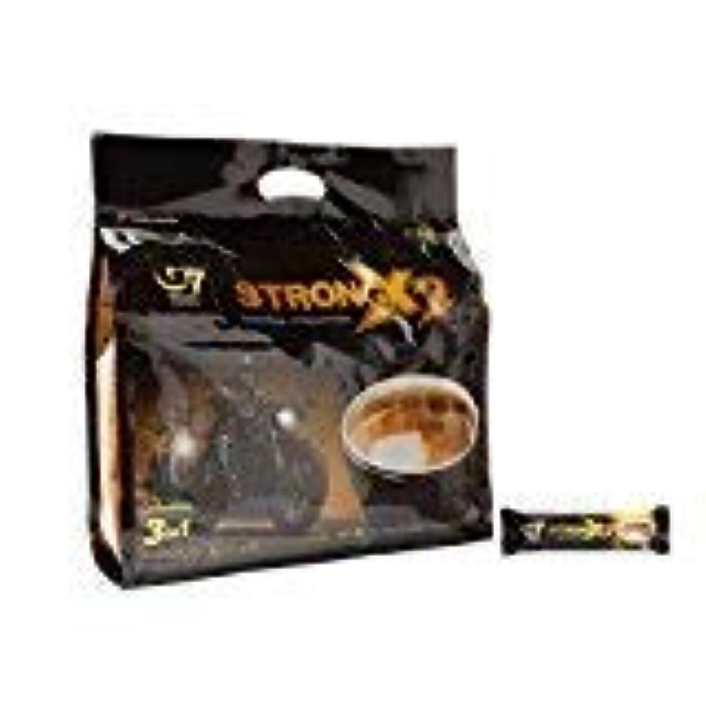 ハンディキャップ郵便局徴収Trung Nguyen G7 Coffee Gu Manh X2 Extra Strength 3 in 1 Coffee 36 sticks x 25 grams [並行輸入品]