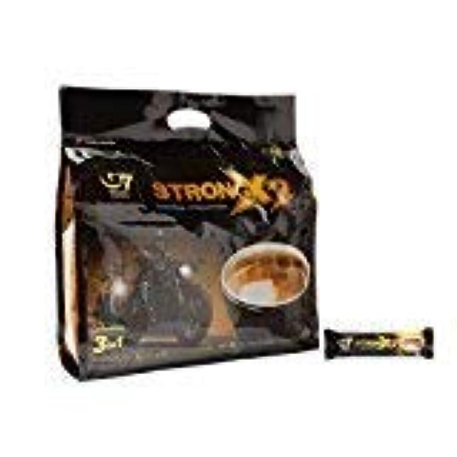 許可するスタウト時Trung Nguyen G7 Coffee Gu Manh X2 Extra Strength 3 in 1 Coffee 36 sticks x 25 grams [並行輸入品]