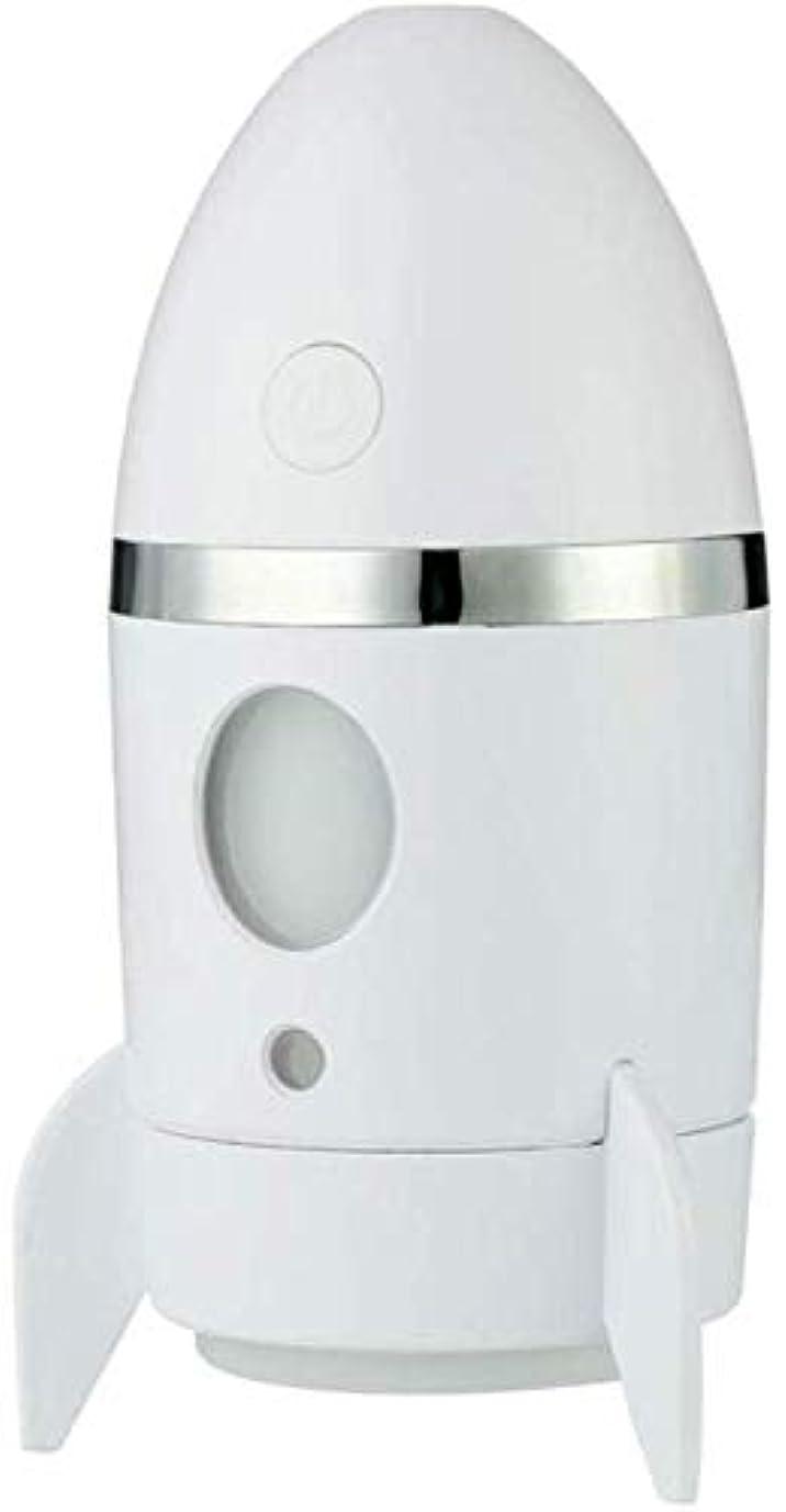 文芸ラショナル分析するSOTCE アロマディフューザー加湿器超音波霧化技術エッセンシャルオイルディフューザー快適な雰囲気満足のいく解決策 (Color : White)