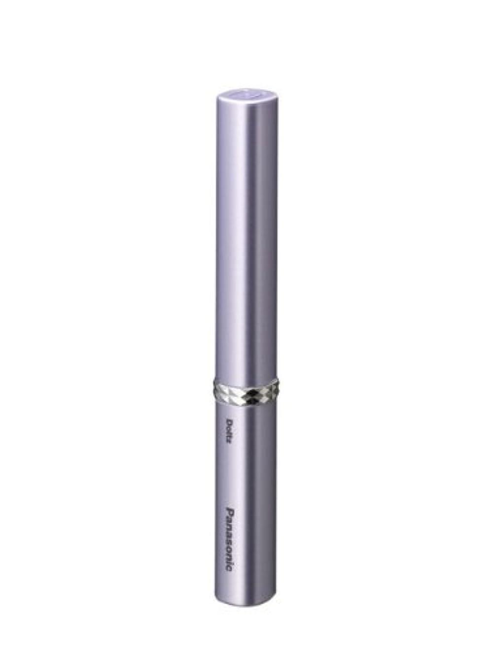 最近ミネラルパリティパナソニック 音波振動ハブラシ ポケットドルツ バイオレット EW-DS13-V