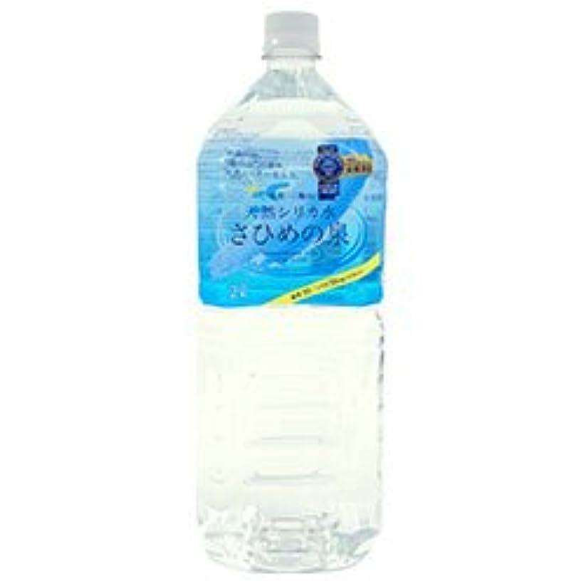 長々とレプリカ状天然シリカ水 さひめの泉 2Lペットボトル×6本入