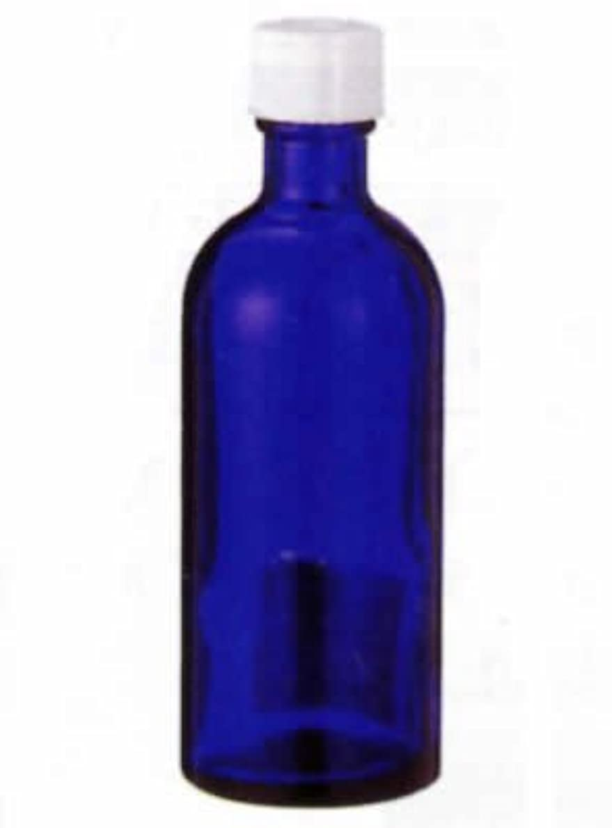 閉塞好奇心盛少数生活の木 青色遮光瓶 100ml