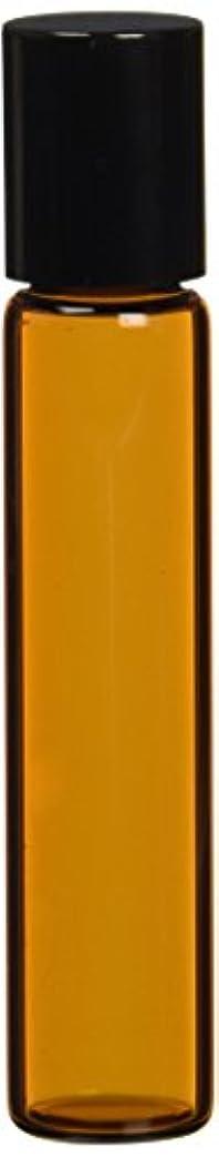 天気ピクニック背骨茶色遮光ガラスロールオンボトル7ml
