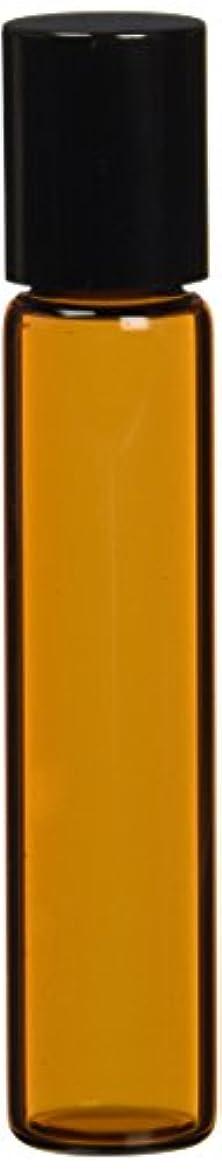 反映する在庫ジュース茶色遮光ガラスロールオンボトル7ml