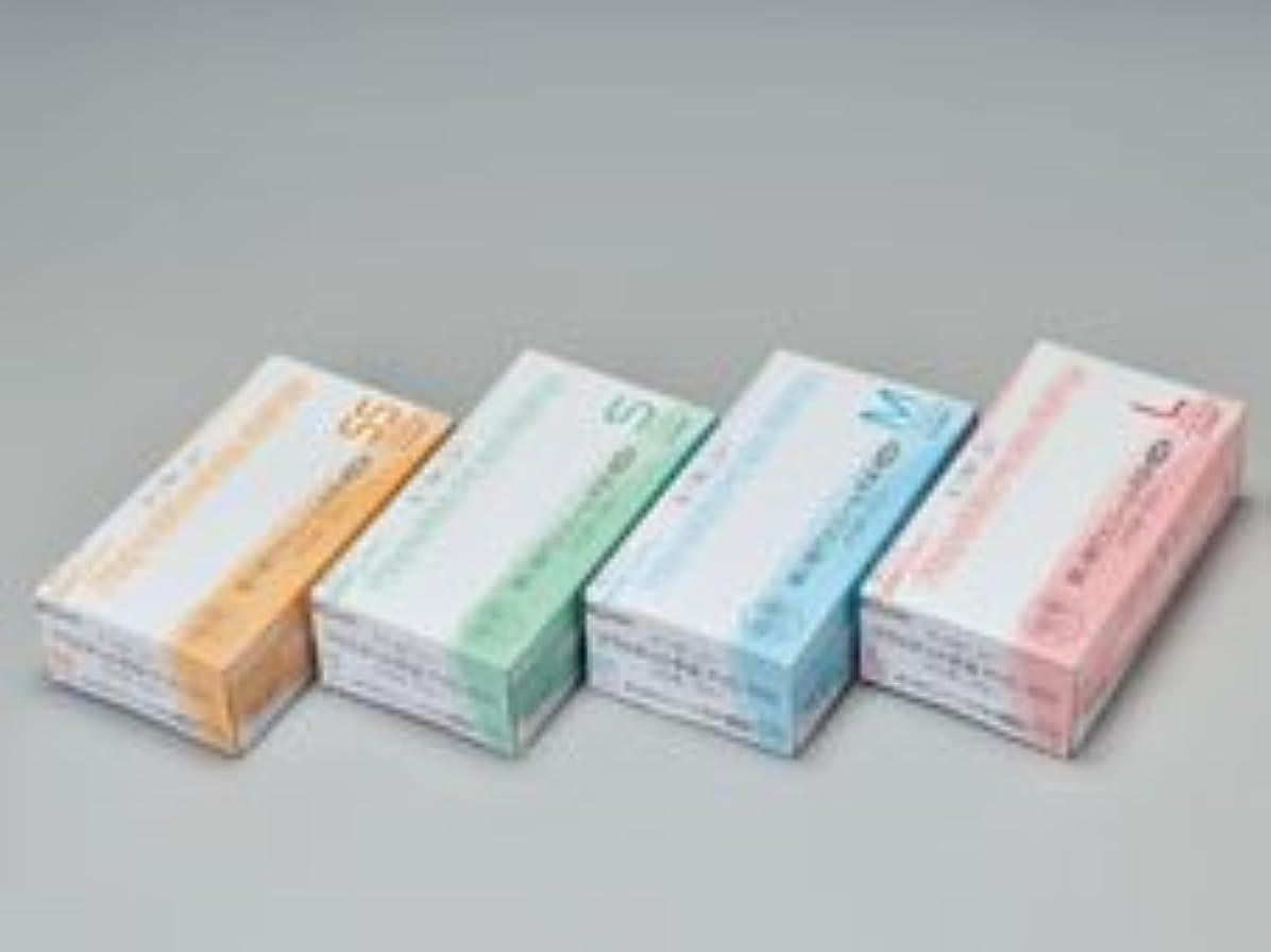 不規則性手錠からに変化するエクセレントプラスチック手袋PVC-100 パウダーフリー L (100枚入)