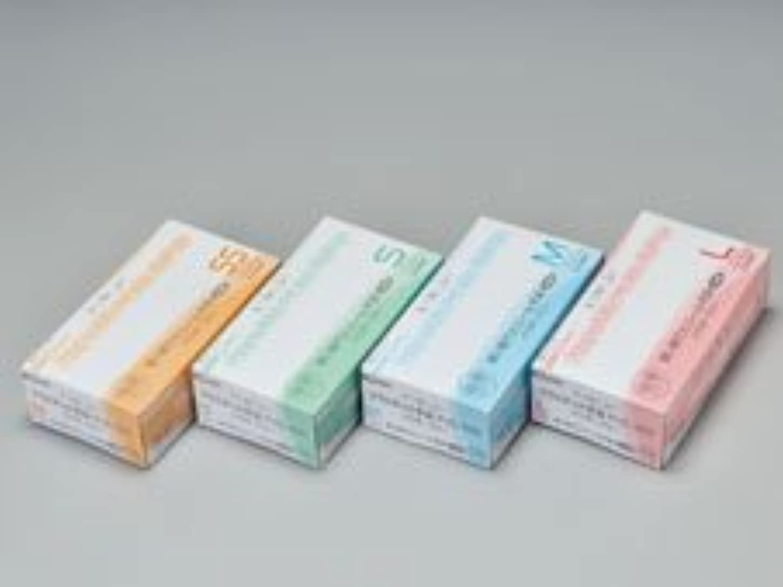 封筒協力ピークエクセレントプラスチック手袋PVC-100 パウダーフリー L (100枚入)