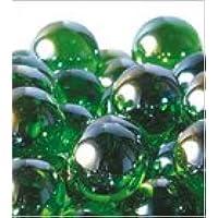 ビー玉 オーロラカラーマーブル 25mm グリーン 約65入