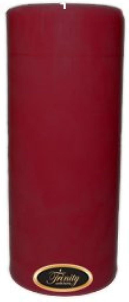 崇拝しますバス呪いTrinity Candle工場 – Creme Brulee – Pillar Candle – 4 x 9
