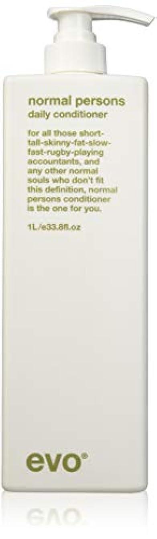 地震感覚悲しみEvo Normal Persons Daily Conditioner (For All Hair Types, Especially Normal to Oily Hair) 1000ml/33.8oz