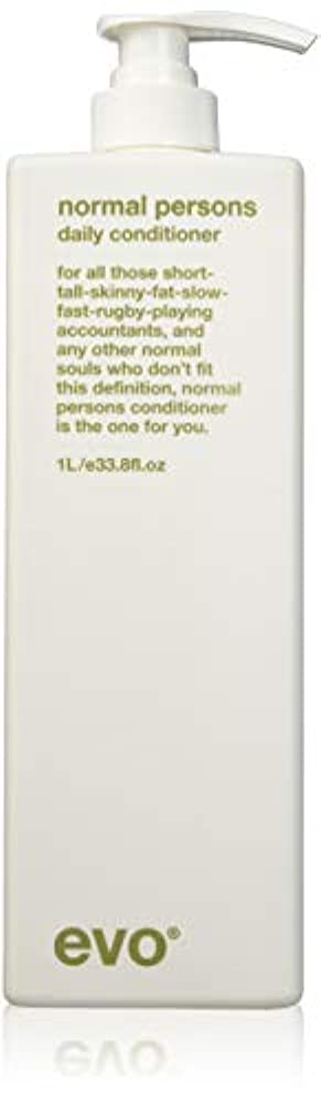 Evo Normal Persons Daily Conditioner (For All Hair Types, Especially Normal to Oily Hair) 1000ml/33.8oz