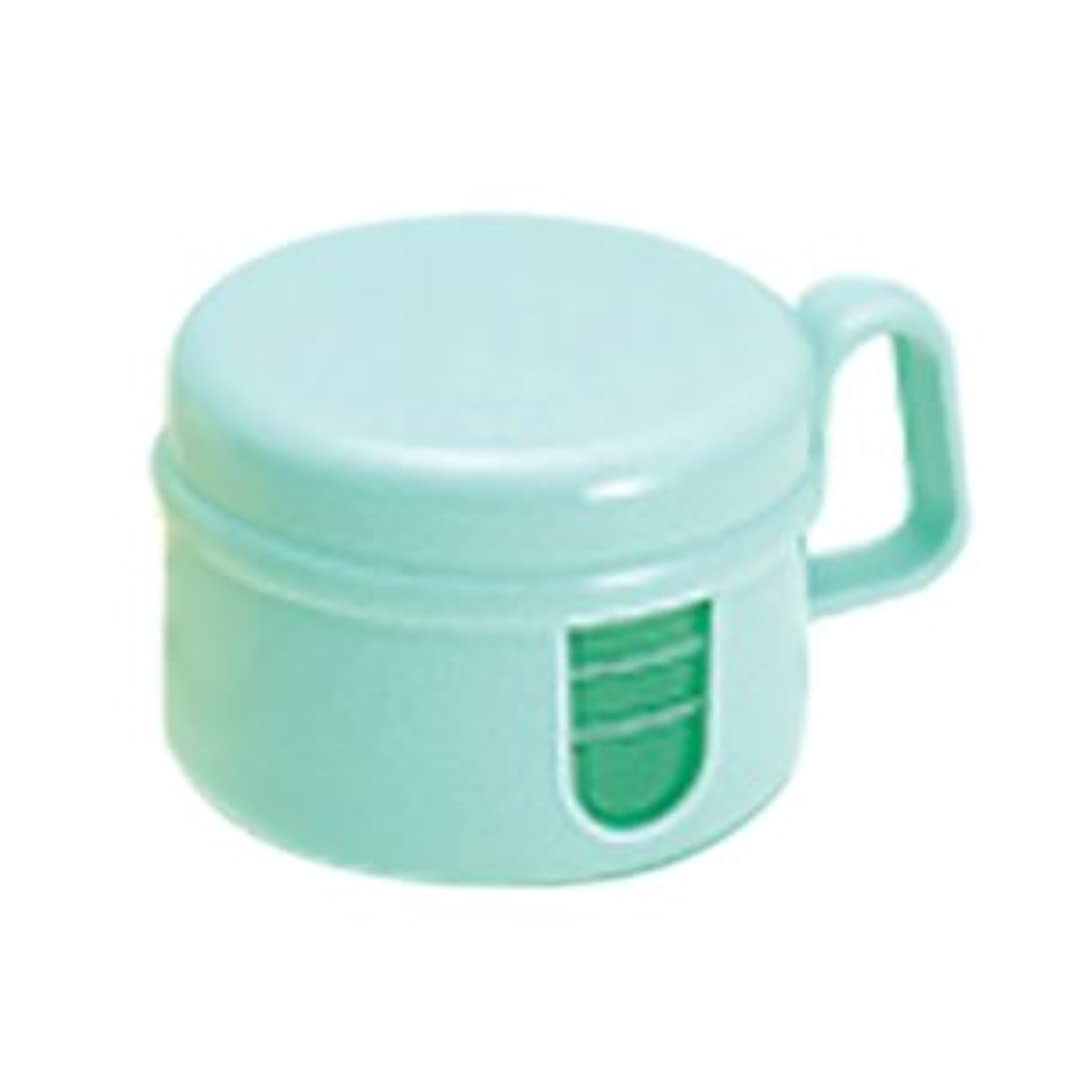 驚きでる突破口松風 ピカ 入れ歯 洗浄保存容器 グリーン