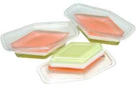 ひなまつり 菱形 三色ゼリー 60g×3個入り (冷凍)