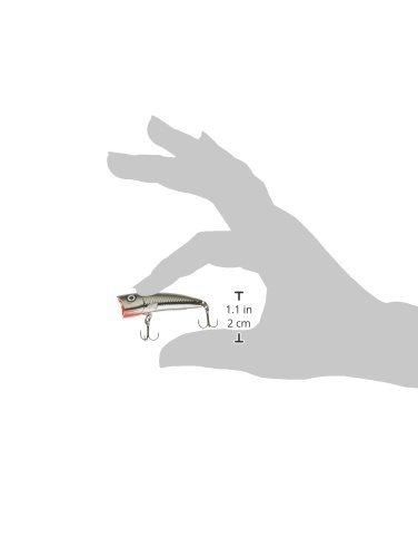ラパラ ウルトラライトポッパー 4cm 3g クローム ULTRA LIGHT POP ULP4-CH
