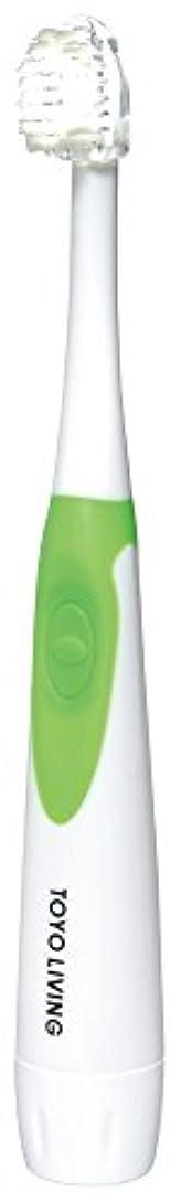 有罪ストラップ研磨東洋リビング 【歯周病対策に】 光る歯ブラシ ベルデンテ TL BR-BL 1P 日本製