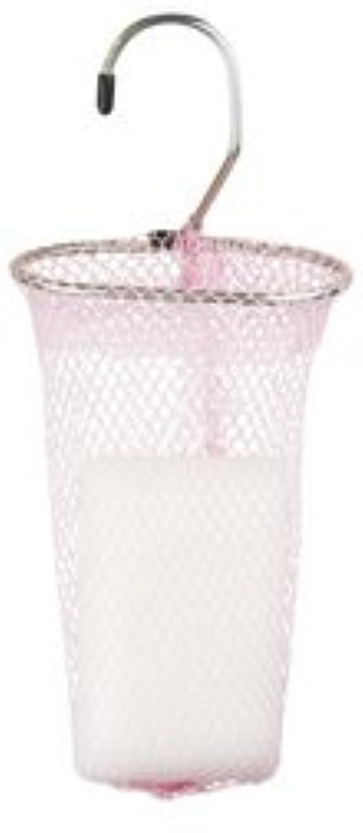 該当する女王キャスト石けんネット リングタイプ 10枚組 ピンク