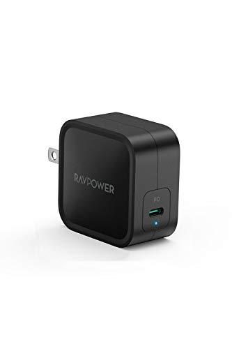 RAVPower 61W USB-C 急速充電器 RP-PC112