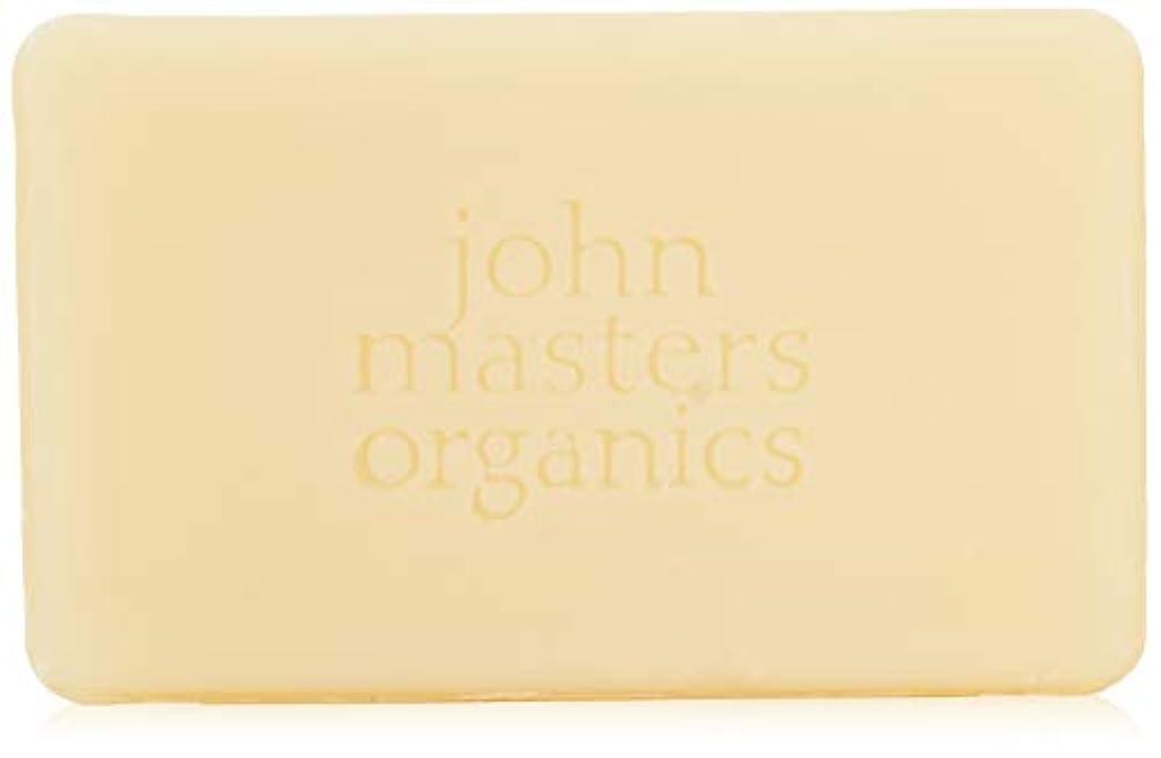 稚魚りんご操作可能ジョンマスターオーガニック ラベンダーローズゼラニウム&イランイランソープ 128g