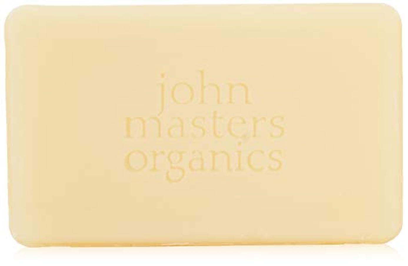 与える毎月余分なジョンマスターオーガニック ラベンダーローズゼラニウム&イランイランソープ 128g