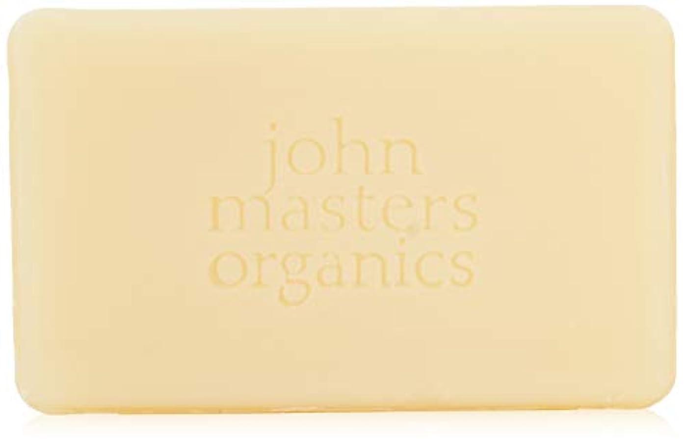 習字くしゃみ種ジョンマスターオーガニック ラベンダーローズゼラニウム&イランイランソープ 128g