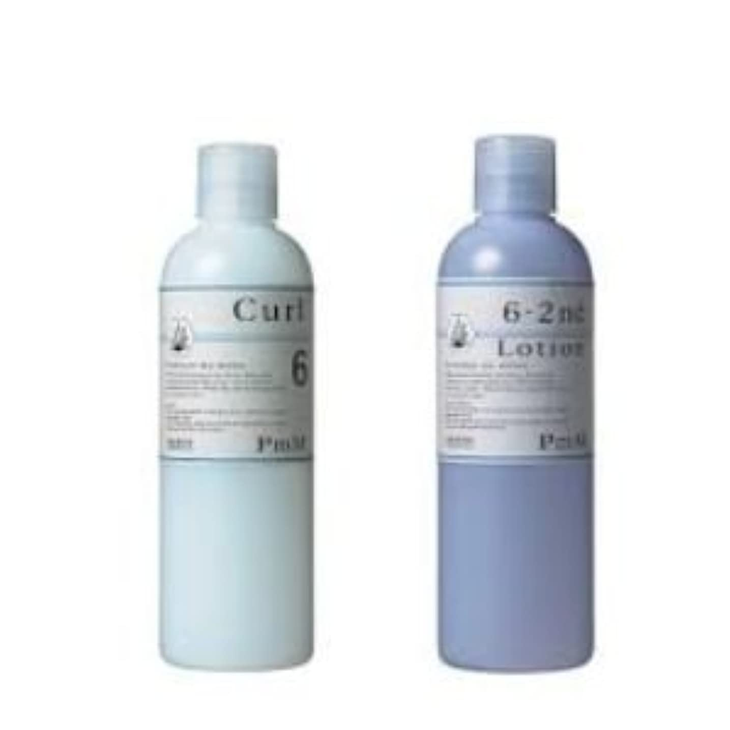 バウンス費やす定義メロスコスメティックス PmM カール6[システアミン]1剤2剤セット/各400ml