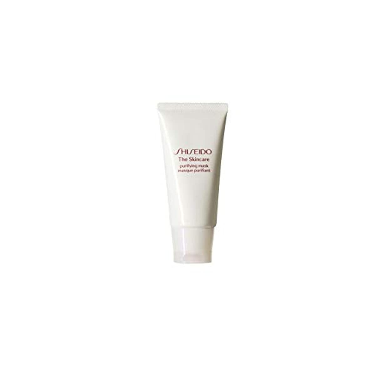 くさび根拠文芸[Shiseido] 資生堂スキンケアの必需品浄化マスク(75ミリリットル) - Shiseido The Skincare Essentials Purifying Mask (75ml) [並行輸入品]