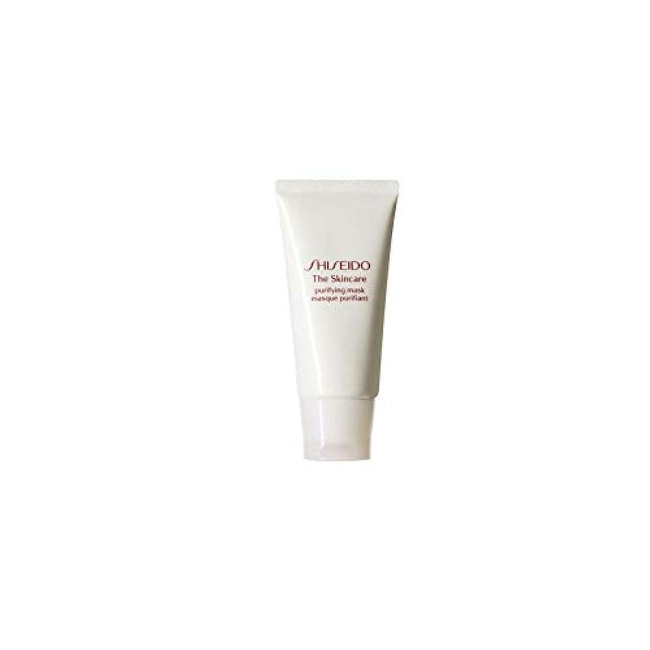 変装優れたクレタ[Shiseido] 資生堂スキンケアの必需品浄化マスク(75ミリリットル) - Shiseido The Skincare Essentials Purifying Mask (75ml) [並行輸入品]