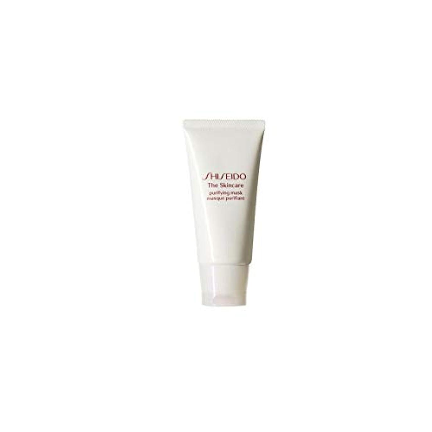 誰もパーツ捨てる[Shiseido] 資生堂スキンケアの必需品浄化マスク(75ミリリットル) - Shiseido The Skincare Essentials Purifying Mask (75ml) [並行輸入品]
