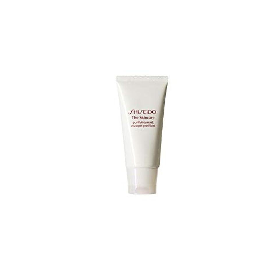 透過性貫入件名[Shiseido] 資生堂スキンケアの必需品浄化マスク(75ミリリットル) - Shiseido The Skincare Essentials Purifying Mask (75ml) [並行輸入品]