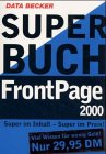 Superbuch Frontpage 2000